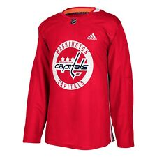 Washington Capitals NHL adidas Authentic Practice Jersey - Red