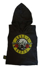 KIDS SINGLET HOODIE GUNS AND ROSES ROCK AND ROLL GIRLS BOYS PUNK FUNKY AXL ROSE
