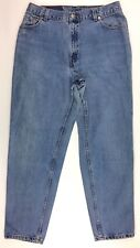 Levis Womens Mom Jeans 550 Relaxed Fit Tapered Leg High Waisted 16 Reg M 33x30