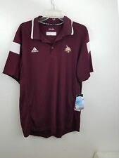 Adidas Climalite Texas State Bobcats Embroidered Logo Shirt NWT SIze Large
