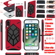 For iPhone 6S Plus X Shockproof Hybrid Hard Armor Slim Silicone Various Case New