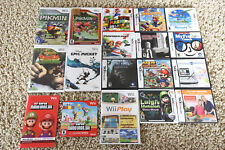 Excellent! Nintendo 3DS Wii and DS Video Games Super Mario Donkey Kong Mariokart