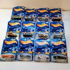 HOT WHEELS 2001 FOSSIL FUEL,TURBO TAXI,RAT RODS,SKULL & CROSSBONES, + OTHERS