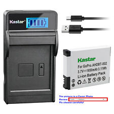 Kastar Battery LCD Charger for Gopro AHDBT-001 AHDBT-002 & Gopro HD HERO 960