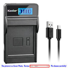 Kastar Battery LCD Charger for Gopro AHDBT-001 AHDBT-002 & Gopro HD HERO Naked