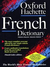The Oxford-Hachette French Dictionary (2nd ed) (Thumb Index ed)  Hardcover