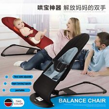 Baby Portable Folding Bed Crib Infant Cradles Travel Balance Metal Chair Sleeper