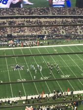 3 Tampa Bay Buccaneers vs Dallas Cowboys Tickets 50 YL 1st Row Upper Deck 12/23