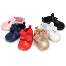 0-18M Baby Infants Girl Shoes Toddlers Bow Soft Sole Infant Footwear Crib Shoes