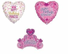 Happy Birthday Princess Party Balloon