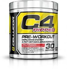 Cellucor C4 Ripped Pre Workout Powder, Explosive Energy & Fat Metabolizing...