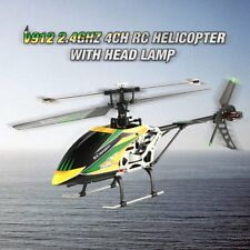 WLtoys V912 Drone Sky Dancer 2.4GHz RTF 4CH RC 3D Helicopter With Lamp LOT OU