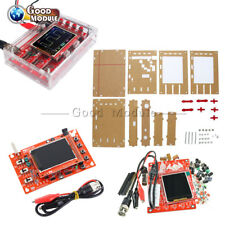 "2.4"" Inch TFT DSO138 Digital Oscilloscope Acrylic Case SMD Soldered DIY Kit"