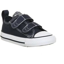 Converse Chuck Taylor All Star 2V Athletic Navy/White Textile Baby Trainers