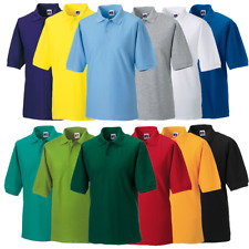 Russell J539M Mens Classic Polo Shirt 11 Colours 8 - 18
