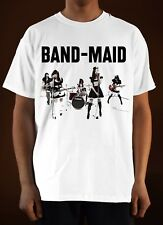 Replica BAND-MAID Poster ver. 5 Heavy Metal T-Shirt (White) S-5XL