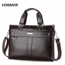 Casual Briefcase Business Shoulder Bag Leather Messenger Bags Computer Handbag