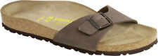 Birkenstock Madrid Birko-Flor Nubuck Womens Shoes Slides Sandals Clogs - NEW