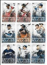 2018 Topps Series 2 Legends In The Making SP - PICK FROM LIST COMPLETE YOUR SET