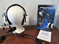 Used Aearo Peltor Aviation Noise Cancelling Stratosphere Headset Model 7104