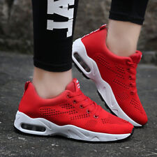 Womens Breathable Sport Shoes Casual Lace Up Sneakers Outdoor Running Trainers