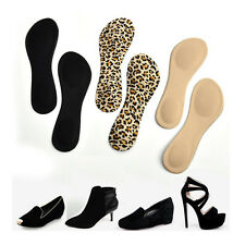 Heel Foot Cushion/Pad 3/4 Insole Shoe pad For Women Orthotic Arch Support JB