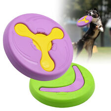 Dog Flying Disc Tooth Resistant Outdoor Pet Training Fetch Toys for Large Dogs