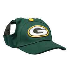 Green Bay Packers NFL Licensed LEP Dog Pet Baseball Cap Hat Sizes S-XL