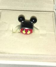 Pand-C9616 new DISNEY Parks Pandora PLAYFUL MICKEY Mouse Ears charm ICON bead