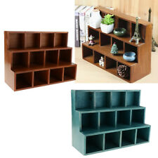 12 Case Wall Floating Shelf Bookshelf Office Shop Display Storage Shadow Box