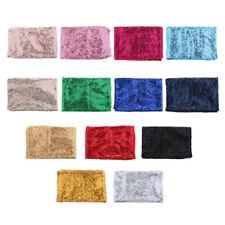 1pc Sequin Tablecloth Rectangular Wedding Reception Table Cloth 130x50cm