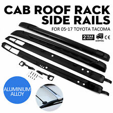 Fit 05-17 Toyota Tacoma Double Cab OE Factory Style Roof Rack Side Rails Bars (Fits: Tacoma)