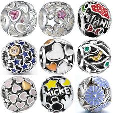 925 european sterling hollow out silver charms bead for bracelet necklace BK005