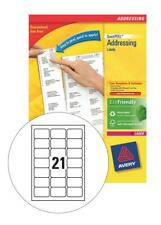 Avery L7160-250  QuickPEEL Addressing Laser Labels (Pack of 5250 Labels)