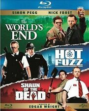 The World's End / Hot Fuzz / Shaun Of The Dead (Blu-ray, 2013, 3-Disc Set, Box …