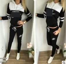 WOMEN GIRLS Tracksuit Hoodies Sweatshirt Pants Sets Sport Wear Casual suit nk