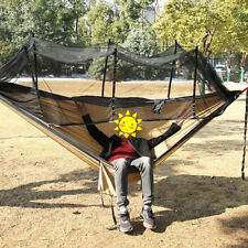 Hammock Parachute Mosquito Net Hanging Bed for Outdoor Camping Hunting Tools