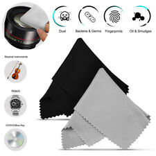 10pcs Microfiber Cleaning Cloth Phone Screen Camera Lens Glasses Square Cleaner
