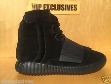 Adidas Yeezy 750 Boost Kanye West Pirate Triple Black Suede BB1839 IN HAND