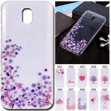 Silicone Rubber Cover TPU Soft Back Skin Shockproof Protective Case For Samsung