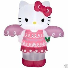 4ft Inflatable Airblown Hello Kitty Christmas Angel Indoor/Outoor Holiday