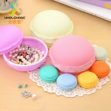 Cute Sweet Macarons Storage Box Candy Earring Outing Boxes Living Essential New