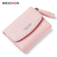 Tassel Women's Wallet With Card Holder Coin Purse Short Wallets Female Purse