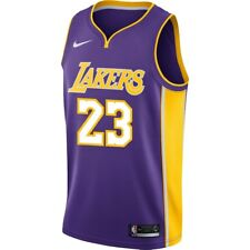 Nike Los Angeles Lakers LeBron James #23 Statement Edition Swingman Jersey NWT