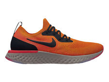 Men's Nike Epic React Flyknit Running Shoes Trainers Copper Flash/Black/Flash