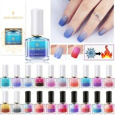 6ml BORN PRETTY Nail Art Color Changing Polish Thermal Stamping Polish  Manicure