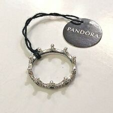NEW! Authentic PANDORA  Enchanted Crown Ring Clear CZ,  187087NCKMX