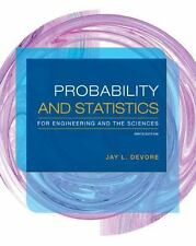 Probability and Statistics for Engineering and the Sciences by Jay L. Devore (20