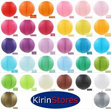 "10"" Paper Lanterns Multi Color Decorative Round Chinese Japanese Home Decor 25cm"