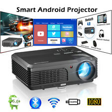 Bluetooth Projector Home Theater 1080p Android Miracast Laptop Netflix Kodi HDMI
